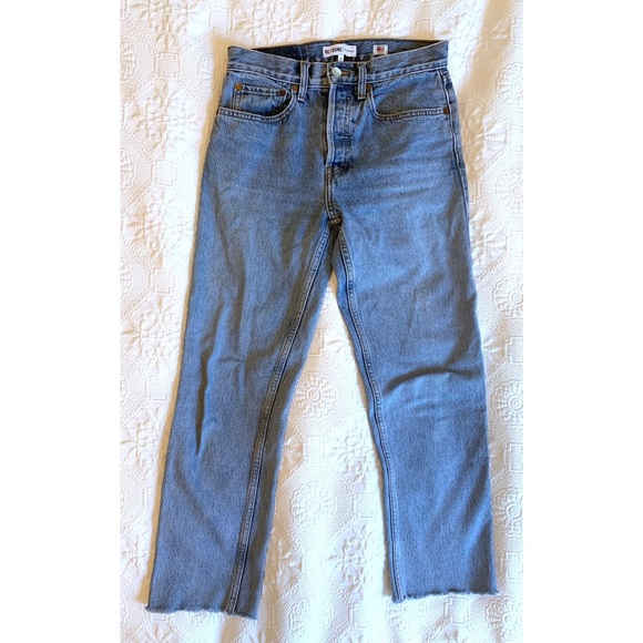 Re/Done Denim - High-Waisted Re/Done Original Jeans Size 27